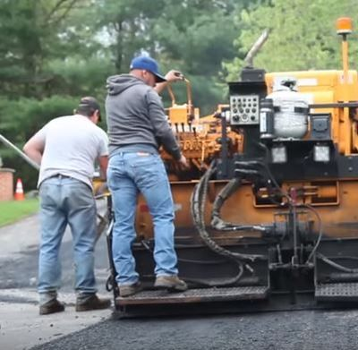 Paving Long Driveway Jersey Strong Paving Hunterdon Country NJ