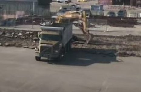 Removal of an Old Asphalt Parking Lot Jersey Strong Paving NJ