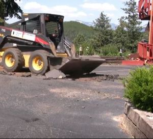 Removing Asphalt from Playground Jersey Strong Paving Trenton NJ